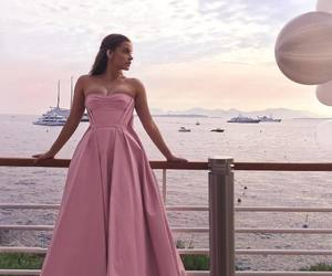 barbara palvin, cannes, and dress image