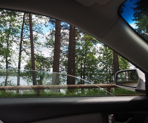 car, driving, and finland image