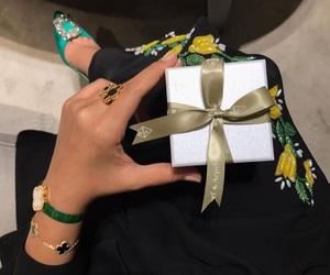 gift, luxury, and abaya image