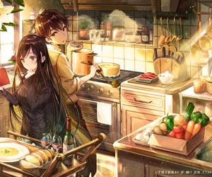 anime, kawaii, and wallpaper image