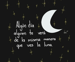 amor, frases, and luna image