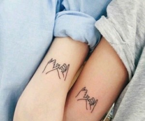 tattoo, friends, and couple image