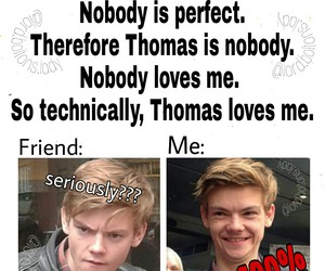 newt, got, and thomas sangster image