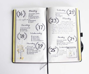 inspo, planner, and journal image