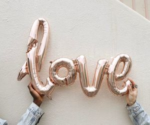 balloons, love, and photography image