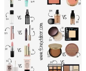 dupe and makeup image