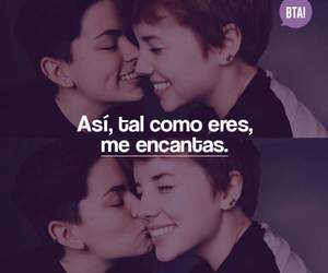 amor, frases, and lesbian image
