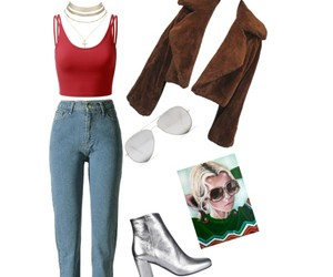 90's, boots, and fashion image