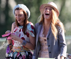 gossip girl, blair, and friends image