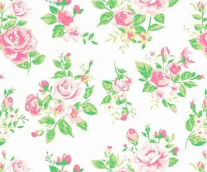 background, floral, and roses image