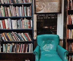 books, bookstore, and decor image