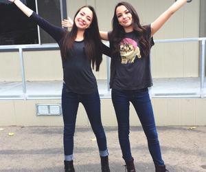 merrell twins, veronica merrell, and vanessa merrell image