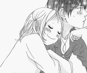 anime girl, boy, and couple image