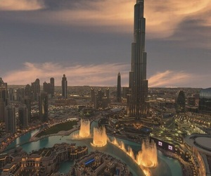 city, Dubai, and beautiful image