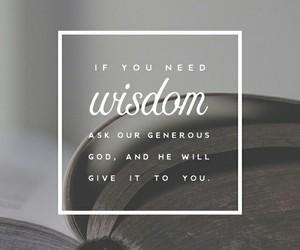 wisdom and god image