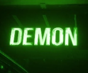 demon and green image