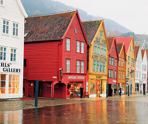 norway, house, and street image