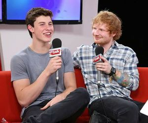 shawn mendes, ed sheeran, and boys image