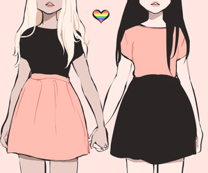 human, lgbt, and love is love image