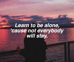 life, quotes, and sunset image