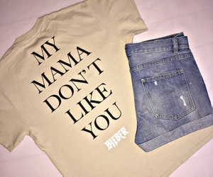 outfit and justin bieber image