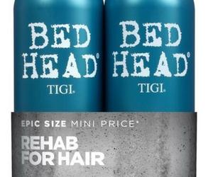 bed, head, and tigi image
