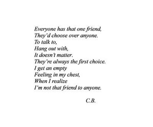 friends, quote, and empty image