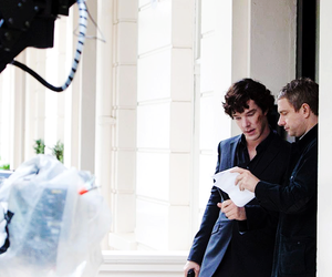 bbc, Martin Freeman, and john watson image