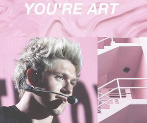 pink, niall horan, and one direction image