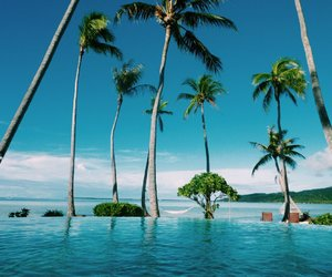 Island, summer, and tahiti image