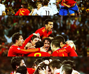 spain, worldcup, and puyol image