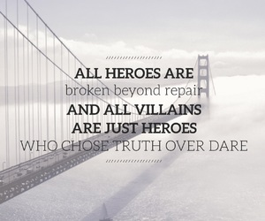 easel, quote, and heroes image