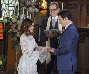 ezra, wedding, and aria image