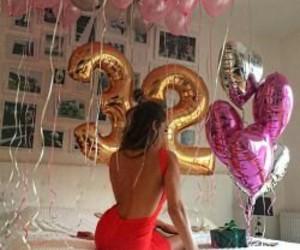 girl, birthday, and 32 image