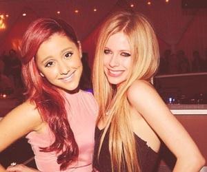 ariana grande, Avril Lavigne, and ariana image