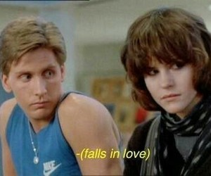 The Breakfast Club, 80s, and movie image