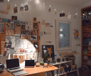 college, tumblr room, and cool image