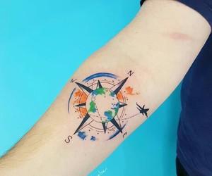 ink, tatoo, and tatto image