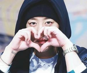 heart, daehyun, and b a p image