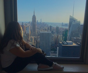 empire state, new york, and tumblr image