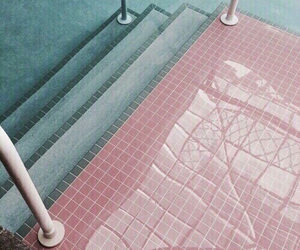 pink, aesthetic, and pool image