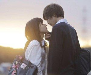 beautiful, couple, and drama image