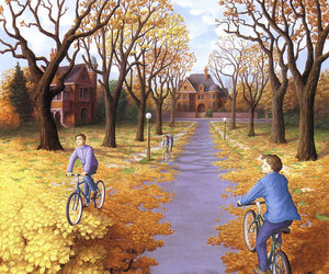fall, rob gonsalves, and illusion image