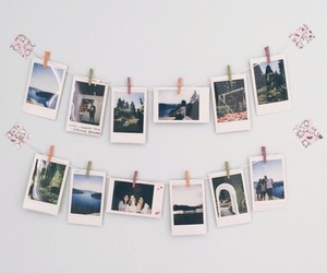 polaroid and photo image