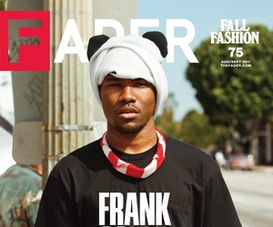 frank ocean and fader image