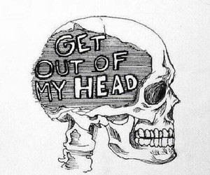skull, head, and art image