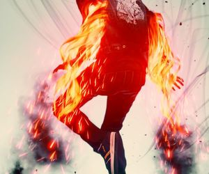 fire and wallpaper image