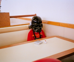 darth vader, star wars, and kids image