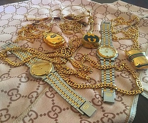cyber, ghetto, and gold image
