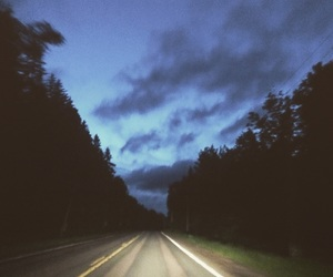alone, canada, and driving image